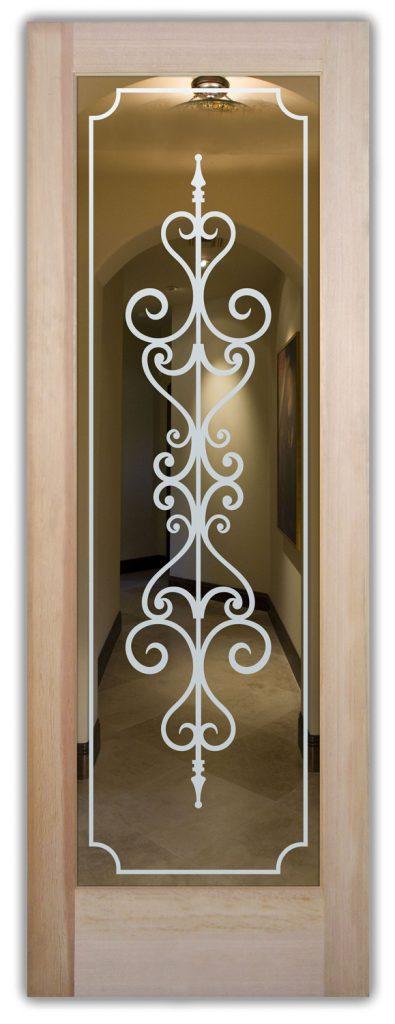 carmona interior glass door