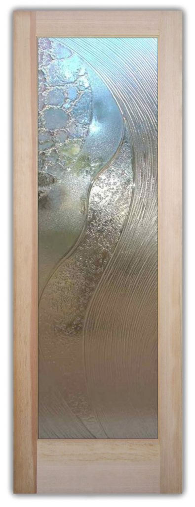 High Tide Cast Glass Door