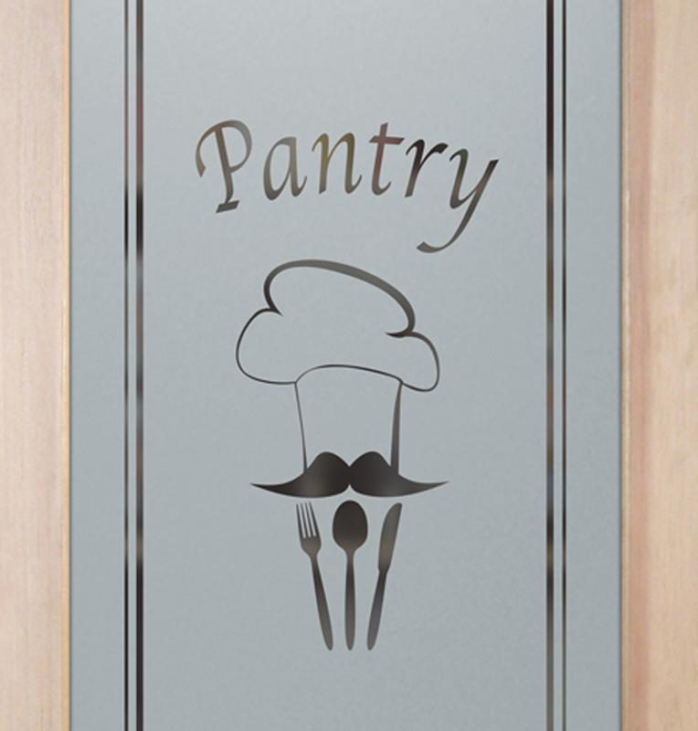 chef's hat 1D pantry door