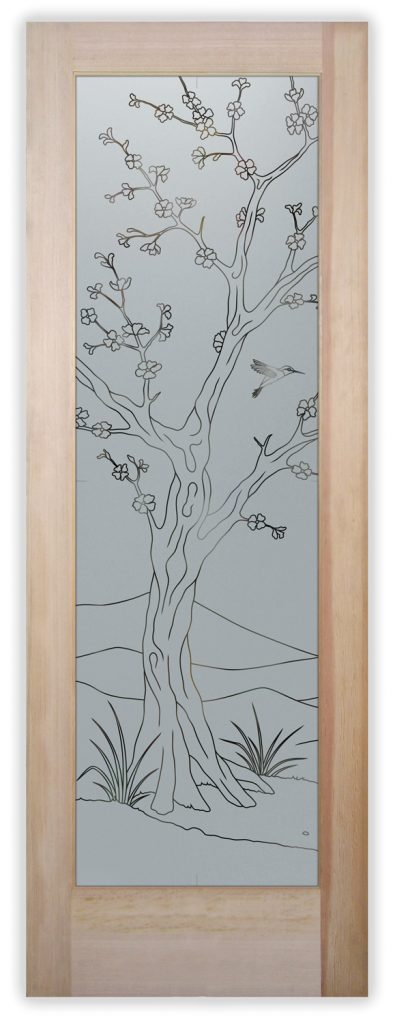 cherry blossom II pantry door
