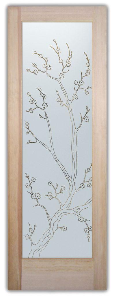 cherry blossom interior or exterior glass doors