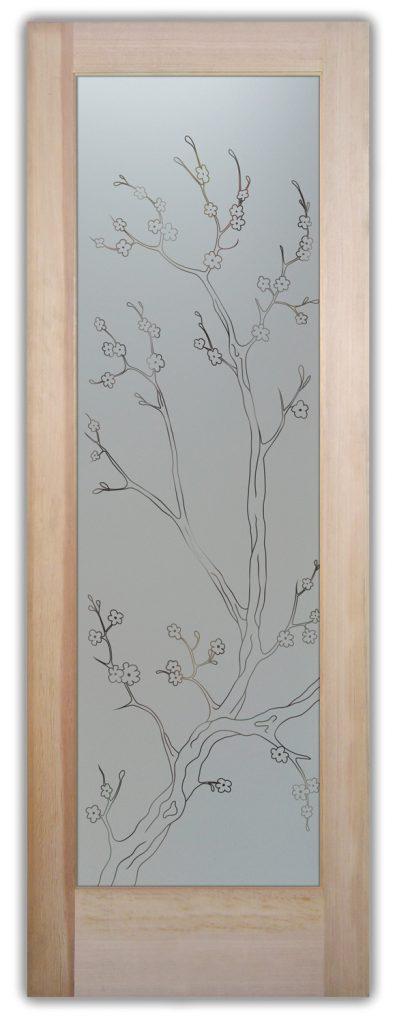 cherry blossom pantry door