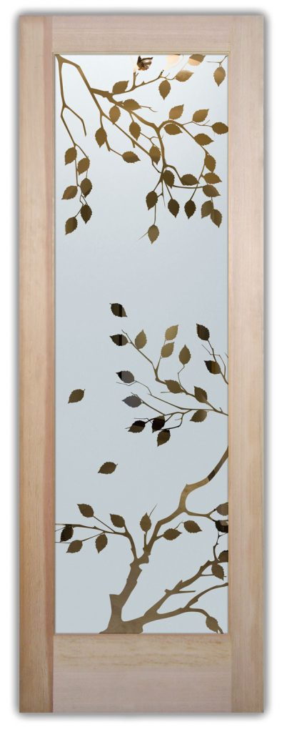 cherry tree interior glass doors