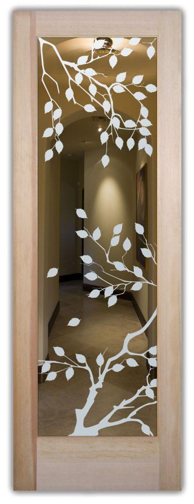 cherry tree interior glass doors