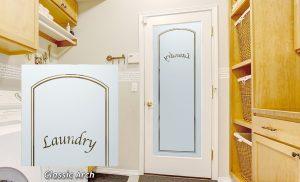Laundry Room Door Classic Arch Sans Soucie