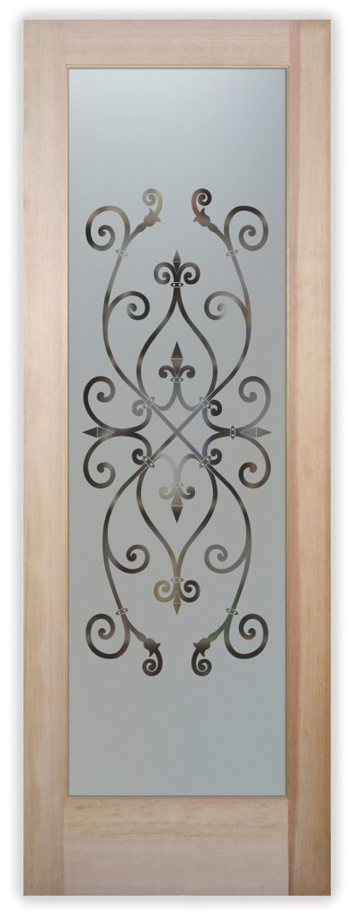 corazones neg pantry door