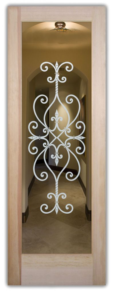 Interior Doors With Glass L Etched Glass Sans Soucie