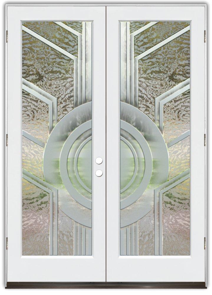 ripples hibiscus waves 3D interior door and exterior door