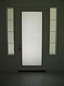 Door Glass Inserts Water Trails Sans Soucie