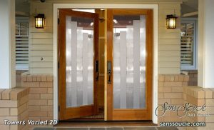 front doors with glass custom glass frosted glass modern style sans soucie