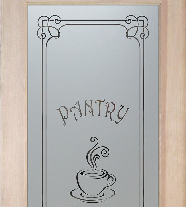 espresso pantry door