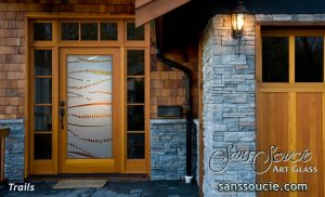 Glass Entry Doors Trails 3D Sans Soucie