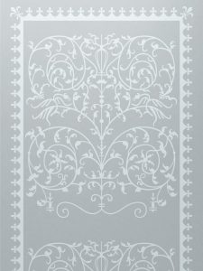 frosted glass victorian decor intricate patterns ornate victorian lace sans soucie