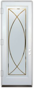 glass doors glass etching geometric patterns traditional decor sans soucie arcs
