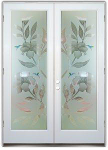 glass front doors hibiscus sans soucie