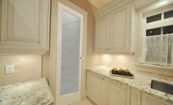 Interior Pantry Doors With Glass Part - 50: Glass Pantry Doors Frosted Sans Soucie
