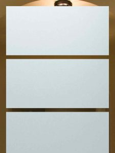etching glass traditional style rectangular lines grand sans soucie