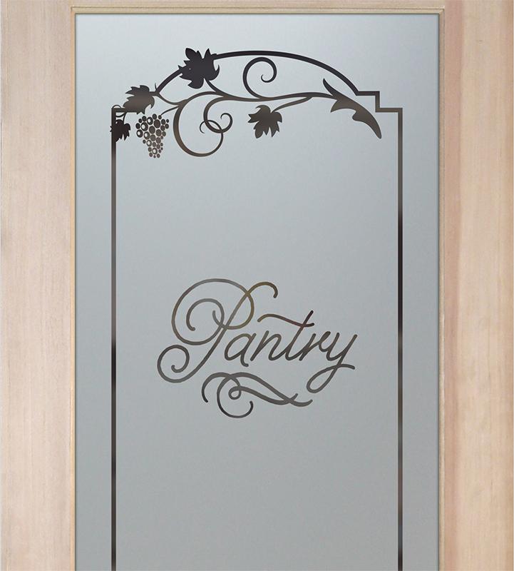 grape ivy pantry door