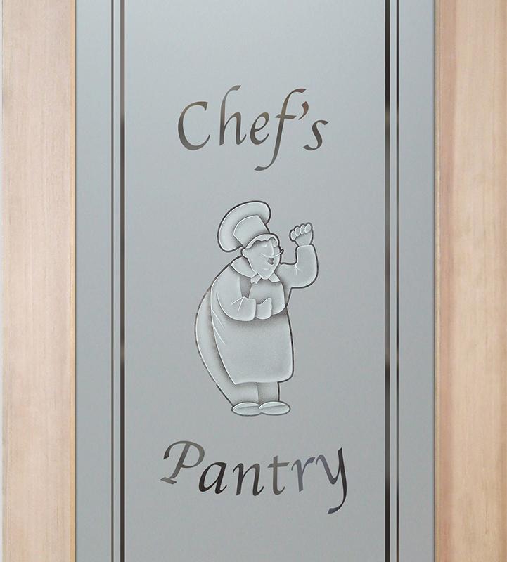 happy chef 3D pantry door
