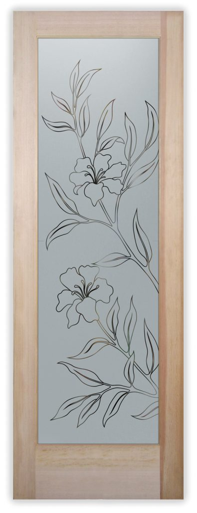 hibiscus pantry door