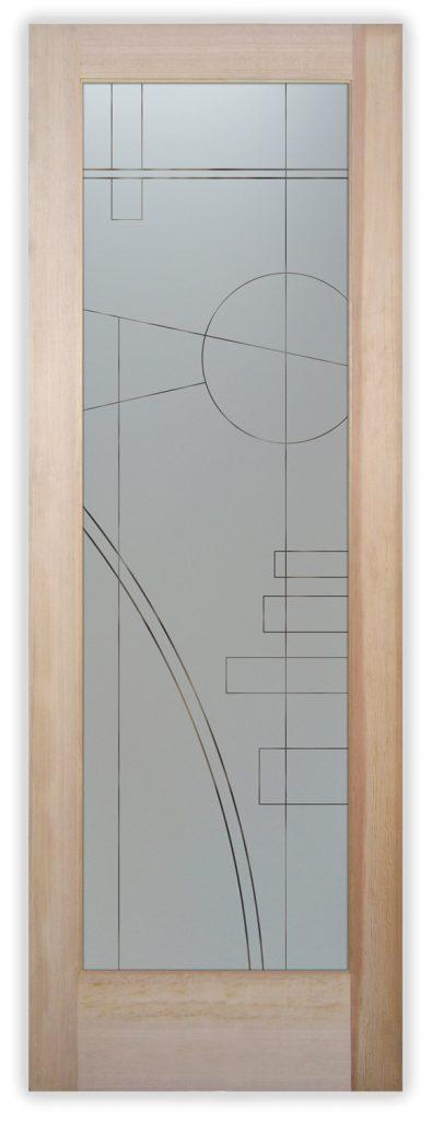 interval pinstripe pantry door