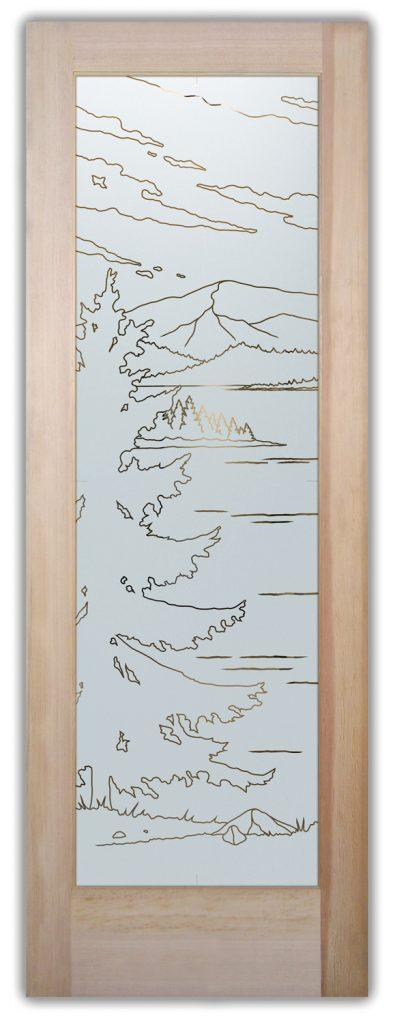 lake arrowhead interior glass doors