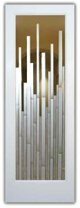 modern style entry doors etched glass mosaics pattern sans soucie contemporary