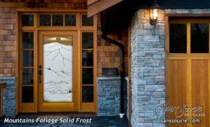 Sans Soucie glass door