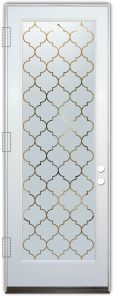 glass doors glass etching pattern gates moroccan decor sans soucie ogee lg