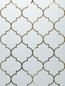 frosted glass etched glass gates moroccan decor style sans soucie ogee lg