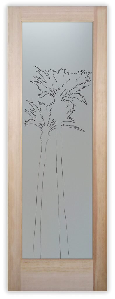 palms gleaming pantry door