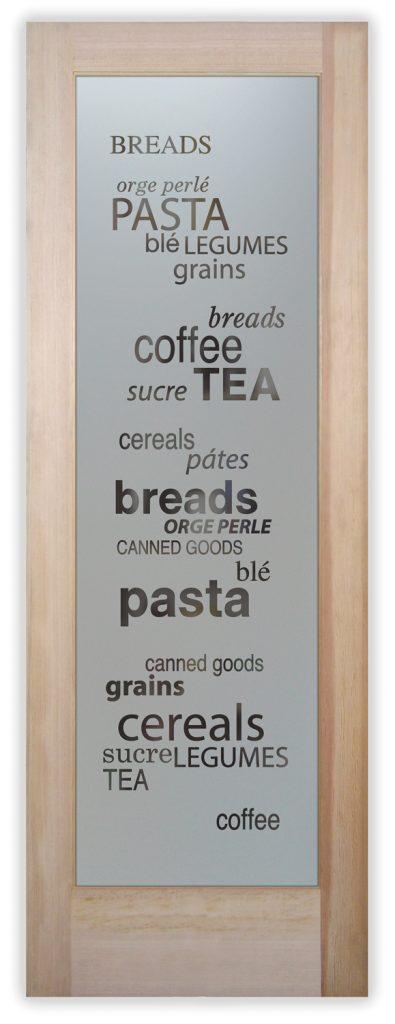 pantry goods 1 pantry door