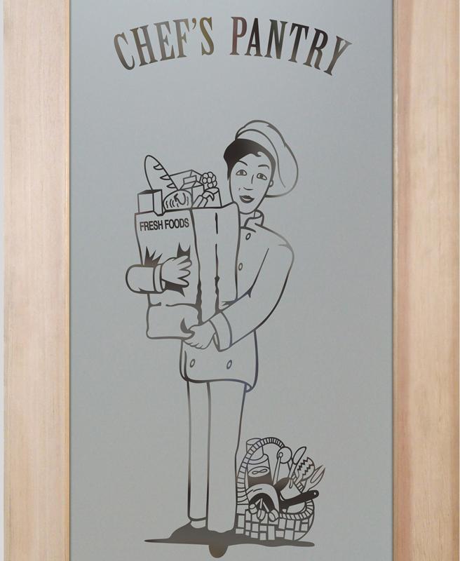 pastry chef 1D pantry door
