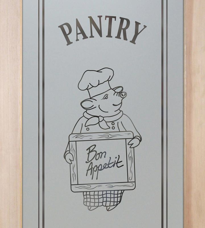piggy chef 1D pantry door