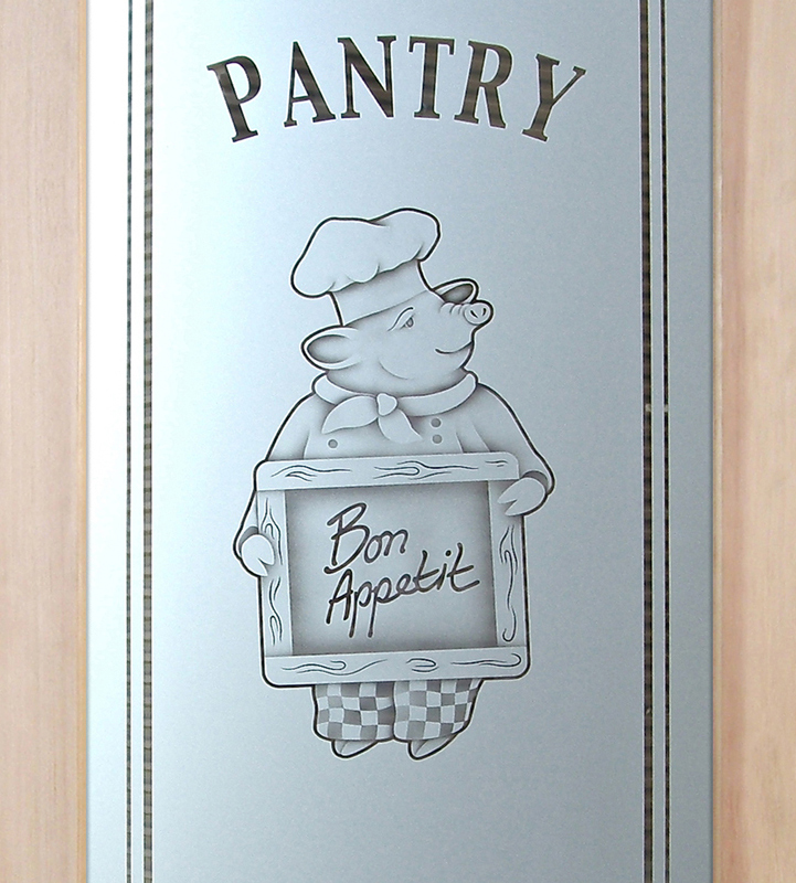 piggy chef 2D pantry door