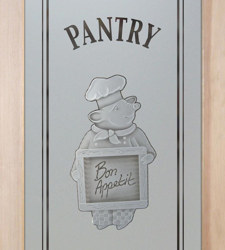 piggy chef 3D pantry door