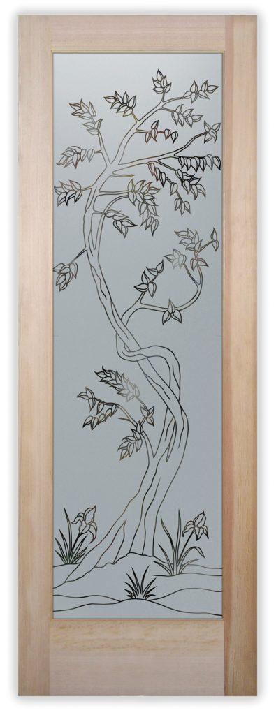 sapling pinstripe pantry door