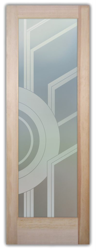 Sun Odyssey II 1D Private Etched Glass Doors