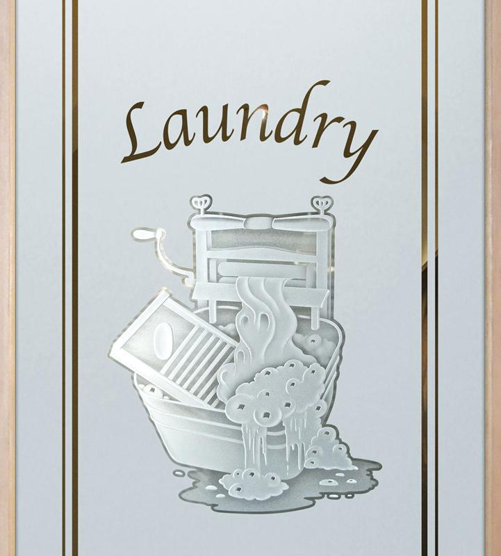 thru the wringer 3D pantry door or laundry door