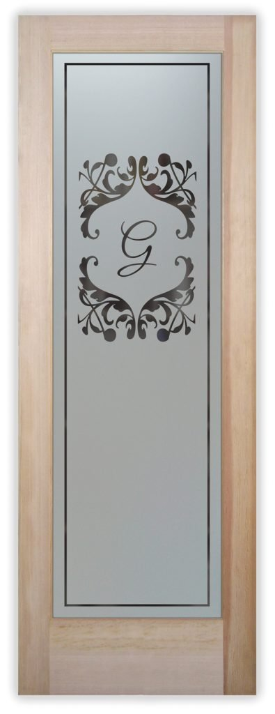 toulouse monogram pantry door