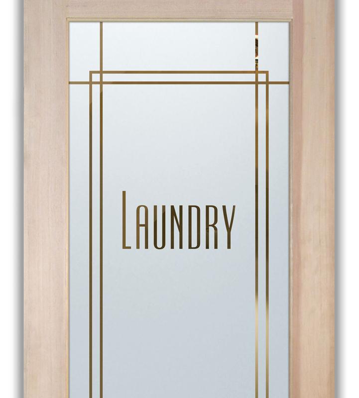 Laundry Room Doors L Etched Glass L Ultra Design