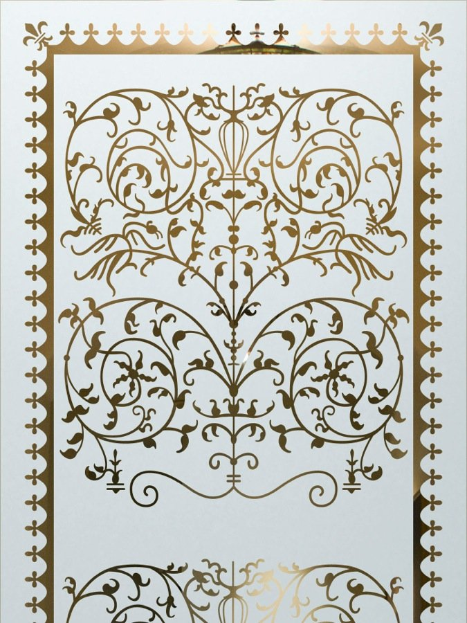 Victorian Lace Etched Glass Front Doors Victorian Decor