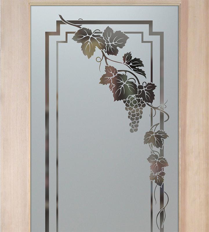 vineyard grapes pantry door