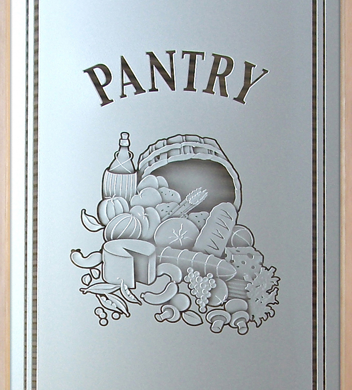 vino 3D pantry door
