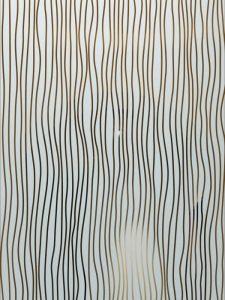 etching glass sandblasted glass wet drizzle natural mediterranean decor sans soucie water trails