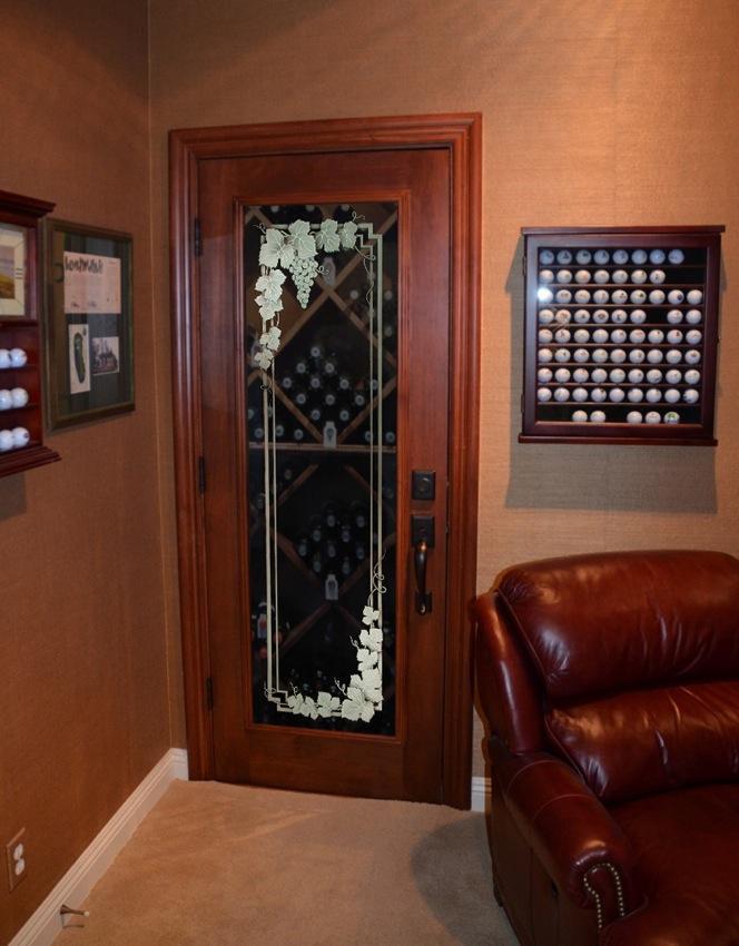 Wine Cellar Doors Vineyard Grapes 3d Garland L Sans Soucie