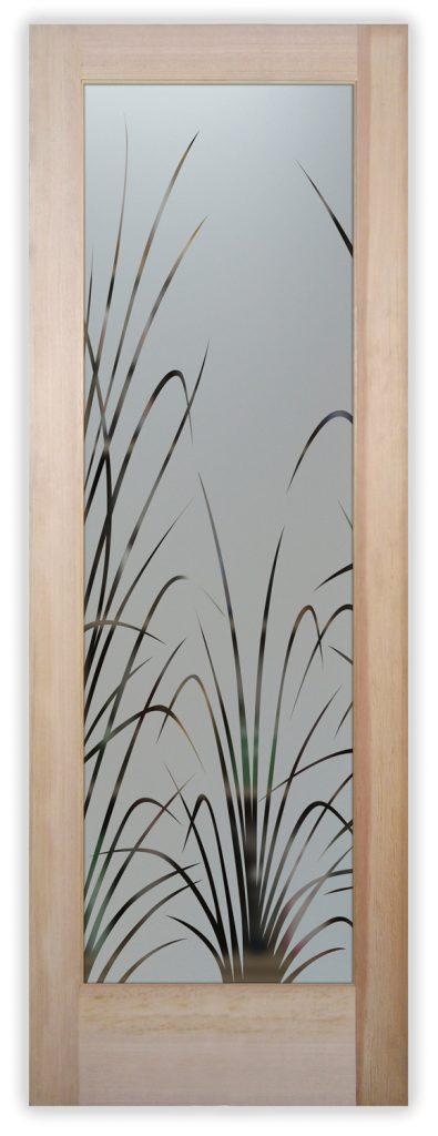 wispy reeds pantry door