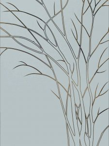 etching glass rustic decor foliage branches wispy tree sans soucie
