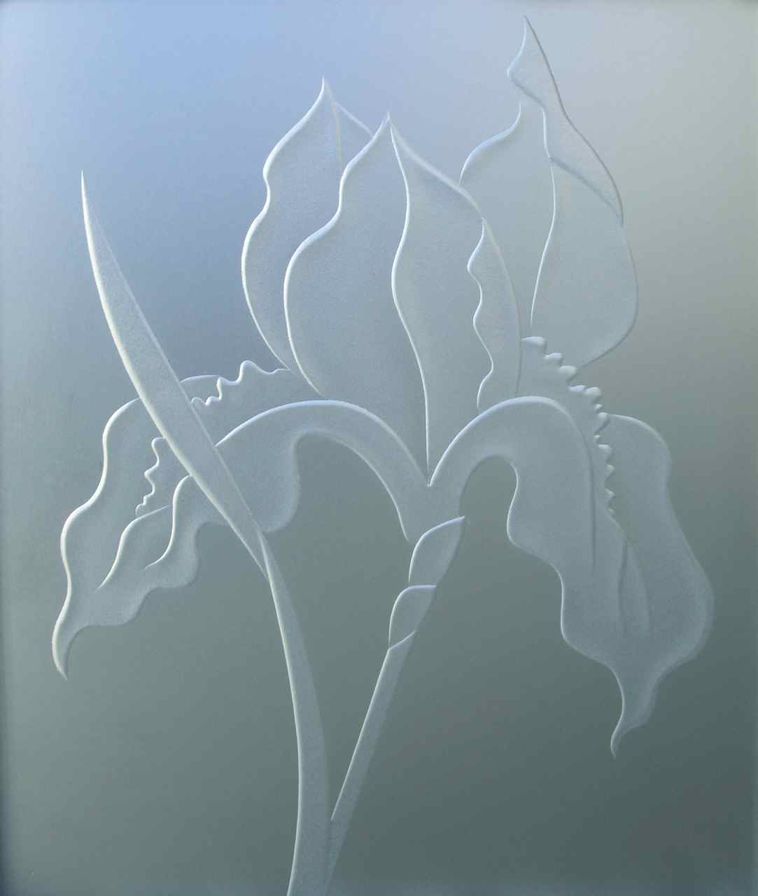 3d Private Painted Glass Etching