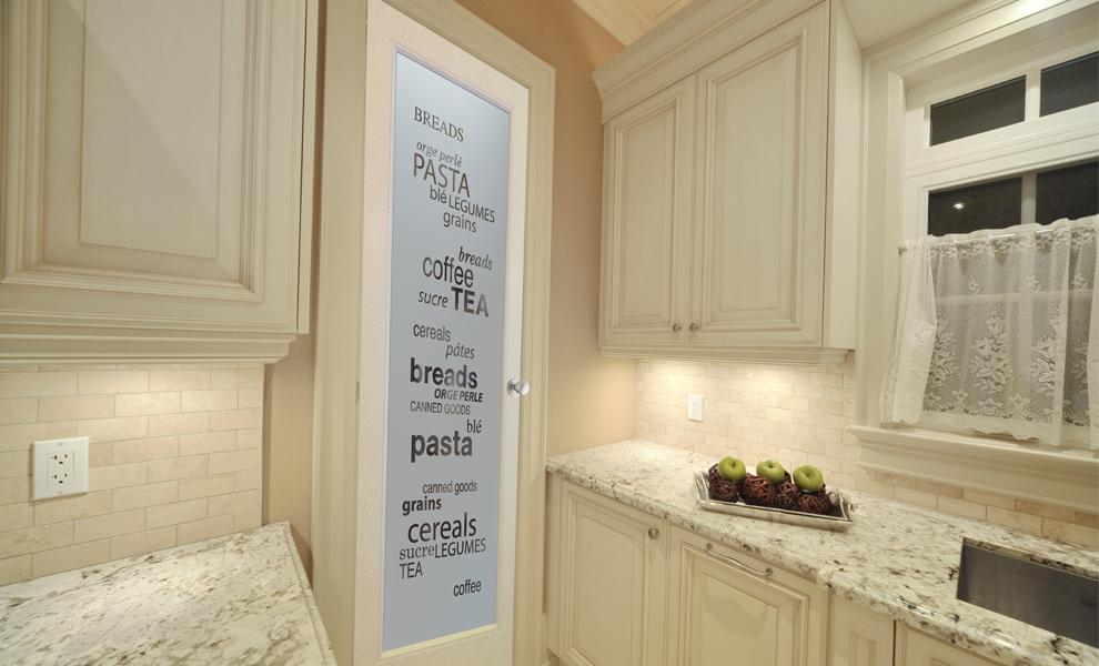 Charmant Glass Pantry Doors Sans Soucie